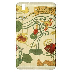 Floral Art Nouveau Samsung Galaxy Tab Pro 8 4 Hardshell Case by 8fugoso