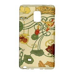 Floral Art Nouveau Galaxy Note Edge by 8fugoso