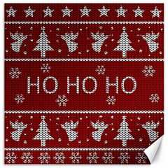 Ugly Christmas Sweater Canvas 16  X 16