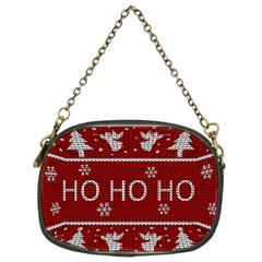Ugly Christmas Sweater Chain Purses (two Sides)