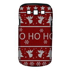 Ugly Christmas Sweater Samsung Galaxy S Iii Classic Hardshell Case (pc+silicone) by Valentinaart