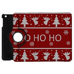 Ugly Christmas Sweater Apple Ipad Mini Flip 360 Case
