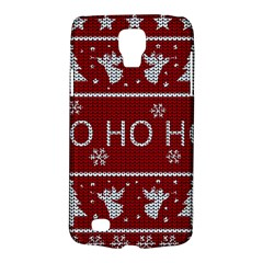 Ugly Christmas Sweater Galaxy S4 Active by Valentinaart