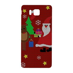 Ugly Christmas Sweater Samsung Galaxy Alpha Hardshell Back Case