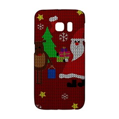 Ugly Christmas Sweater Galaxy S6 Edge by Valentinaart