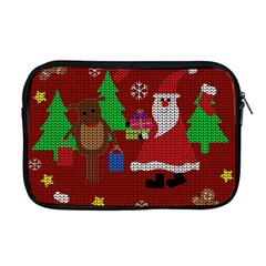 Ugly Christmas Sweater Apple Macbook Pro 17  Zipper Case by Valentinaart