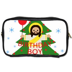 Jesus   Christmas Toiletries Bags 2 Side by Valentinaart