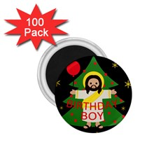 Jesus   Christmas 1 75  Magnets (100 Pack)  by Valentinaart