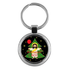 Jesus   Christmas Key Chains (round)  by Valentinaart