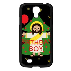 Jesus   Christmas Samsung Galaxy S4 I9500/ I9505 Case (black) by Valentinaart