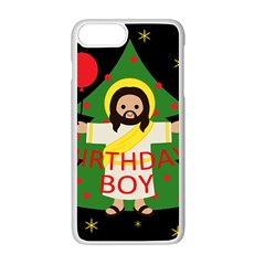 Jesus   Christmas Apple Iphone 7 Plus Seamless Case (white) by Valentinaart