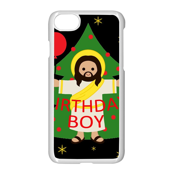 Jesus - Christmas Apple iPhone 8 Seamless Case (White)