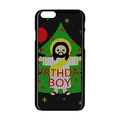 Jesus   Christmas Apple Iphone 6/6s Black Enamel Case by Valentinaart