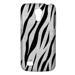 Skin3 Black Marble & White Leather Galaxy S4 Mini by trendistuff