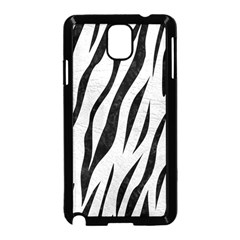 Skin3 Black Marble & White Leather Samsung Galaxy Note 3 Neo Hardshell Case (black) by trendistuff