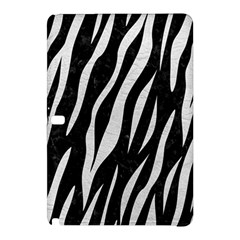 Skin3 Black Marble & White Leather (r) Samsung Galaxy Tab Pro 12 2 Hardshell Case by trendistuff