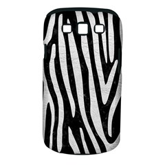 Skin4 Black Marble & White Leather Samsung Galaxy S Iii Classic Hardshell Case (pc+silicone) by trendistuff