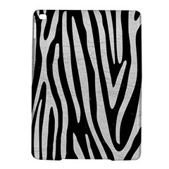 Skin4 Black Marble & White Leather Ipad Air 2 Hardshell Cases by trendistuff