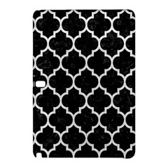 Tile1 Black Marble & White Leather (r) Samsung Galaxy Tab Pro 12 2 Hardshell Case by trendistuff