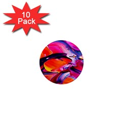 Abstract Acryl Art 1  Mini Magnet (10 Pack)  by tarastyle