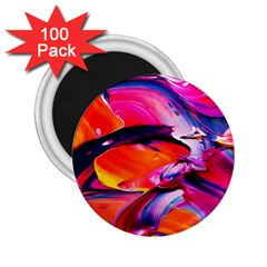 Abstract Acryl Art 2 25  Magnets (100 Pack)  by tarastyle