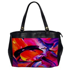 Abstract Acryl Art Office Handbags by tarastyle