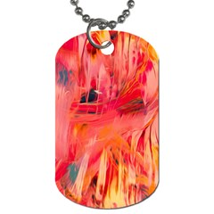 Abstract Acryl Art Dog Tag (one Side) by tarastyle