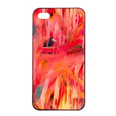 Abstract Acryl Art Apple Iphone 4/4s Seamless Case (black) by tarastyle