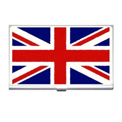 Union Jack Pencil Art Business Card Holders