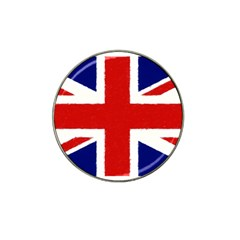 Union Jack Pencil Art Hat Clip Ball Marker (4 Pack) by picsaspassion