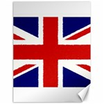 Union Jack Pencil Art Canvas 18  x 24   24 x18 Canvas - 1