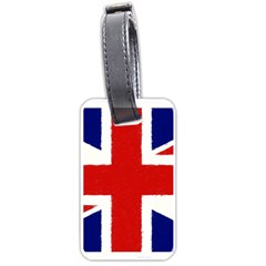 Union Jack Pencil Art Luggage Tags (one Side)  by picsaspassion