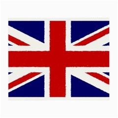 Union Jack Watercolor Drawing Art Small Glasses Cloth by picsaspassion