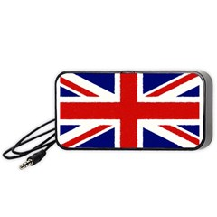 Union Jack Watercolor Drawing Art Portable Speaker by picsaspassion