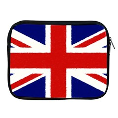 Union Jack Watercolor Drawing Art Apple Ipad 2/3/4 Zipper Cases by picsaspassion