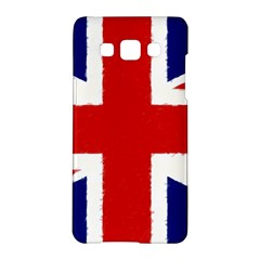 Union Jack Watercolor Drawing Art Samsung Galaxy A5 Hardshell Case  by picsaspassion
