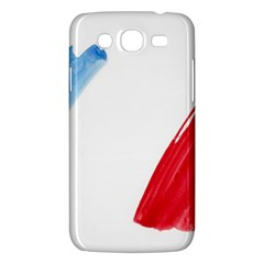 France Flag, Banner Watercolor Painting Art Samsung Galaxy Mega 5 8 I9152 Hardshell Case  by picsaspassion
