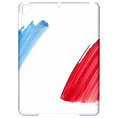 France Flag, Banner Watercolor Painting Art Apple Ipad Pro 9 7   Hardshell Case by picsaspassion