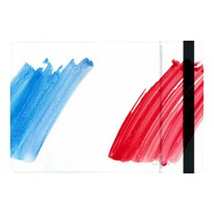 France Flag, Banner Watercolor Painting Art Apple Ipad Pro 10 5   Flip Case by picsaspassion