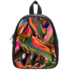 Abstract Acryl Art School Bag (small) by tarastyle