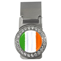 Flag Ireland, Banner Watercolor Painting Art Money Clips (cz)