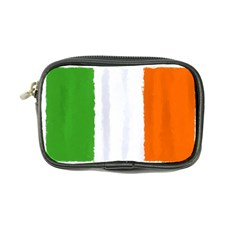 Flag Ireland, Banner Watercolor Painting Art Coin Purse by picsaspassion