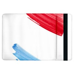 Tricolor Banner Watercolor Painting Art Ipad Air Flip by picsaspassion