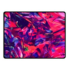 Abstract Acryl Art Fleece Blanket (small) by tarastyle