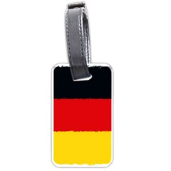 German Flag, Banner Deutschland, Watercolor Painting Art Luggage Tags (one Side)