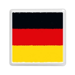 German Flag, Banner Deutschland, Watercolor Painting Art Memory Card Reader (square)