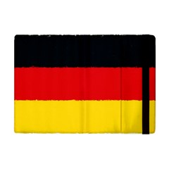 German Flag, Banner Deutschland, Watercolor Painting Art Apple Ipad Mini Flip Case by picsaspassion