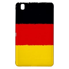 German Flag, Banner Deutschland, Watercolor Painting Art Samsung Galaxy Tab Pro 8 4 Hardshell Case by picsaspassion