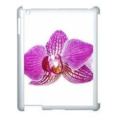 Lilac Phalaenopsis Aquarel  Watercolor Art Painting Apple Ipad 3/4 Case (white) by picsaspassion