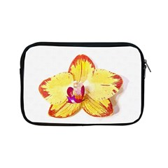 Phalaenopsis Yellow Flower, Floral Oil Painting Art Apple Ipad Mini Zipper Cases by picsaspassion